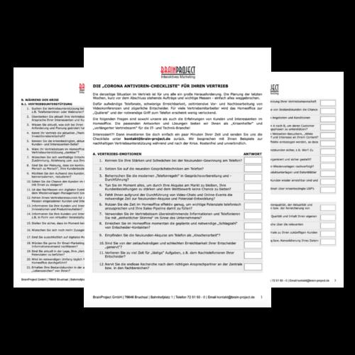 Checkliste-BrainProject